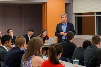 VP For Student Affairs Damon Sims Discusses University's Enhanced Role In Greek Life